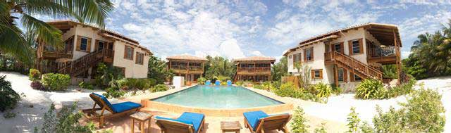 Los Encantos, Caye Management, Ambergris Caye Belize Beachfront Homes  Villas Condominiums Apartments Rentals
